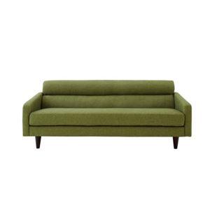 ソファー 幅180cm モスグリーン スタンダードソファ【OLIVEA】オリヴィア【代引不可】