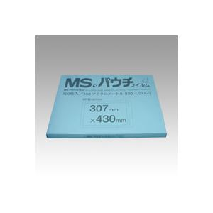 明光商会 MSパウチフィルム MP15-307430 100枚