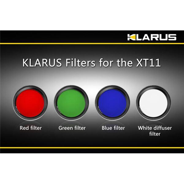 KLARUS(クラルス) XT11用フィルター 青