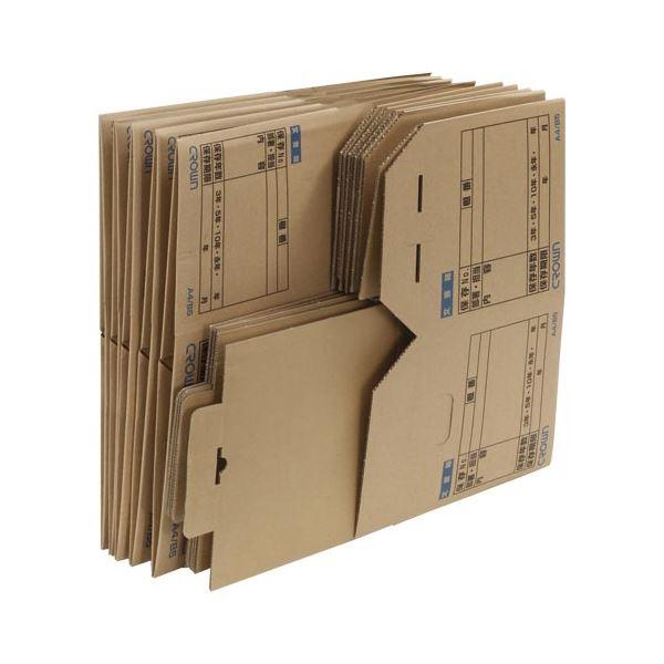 【マラソンでポイント最大43倍】クラウン 文書保存箱 10個入 CR-BH465×10 10個