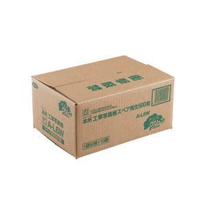 ピジョン 本州工事写真帳 工事用アルバム スペア台紙 2・4穴兼用 E・Lサイズ兼用 A-L6Wダイシ500 1パック(500枚)