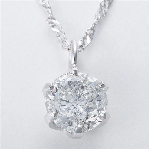 スーパーセールでポイント最大44倍 K18WG 0 3ctダイヤモンドペンダント ネックレス スクリューチェーンn0O8PXwk