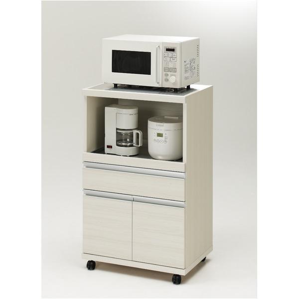フナモコ ハイタイプキッチンカウンター 【幅60.2×高さ98.3cm】 ホワイトウッド MRS-60 日本製