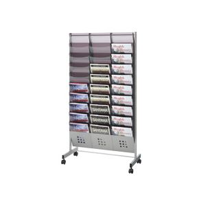 トヨダプロダクツ パンフレットスタンド 3列10段 A4サイズ PS-310 1台