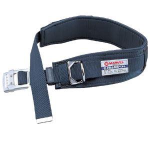 【マラソンでポイント最大43倍】柱上安全帯用ベルト(スライドバックルタイプ) 濃紺 マーベル MAT-100