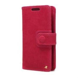 AEJEX 高級羊革スマートフォン用ケース D3シリーズ PINK AS-AJD3-PK