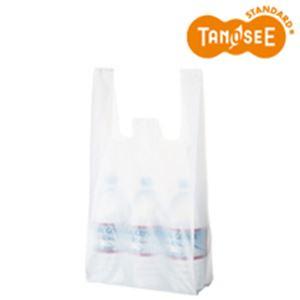 (まとめ)乳白レジ袋 No35 100枚入×60