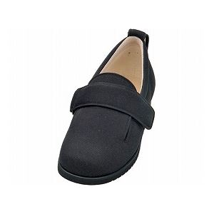 介護靴 施設・院内用 ダブルマジック2 11E(ワイドサイズ) 7029 両足 徳武産業 あゆみシリーズ /4L (26.0~26.5cm) ブラック