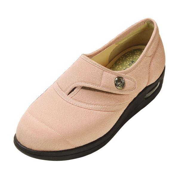 【スーパーセールでポイント最大44倍】マリアンヌ製靴 彩彩~ちりめん~ W1100 婦人用 /22.0cm さくら