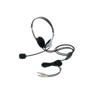 【マラソンでポイント最大43倍】(業務用5セット)エレコム ELECOM ヘッドセット両耳オーバーヘッド HS-HP22SV