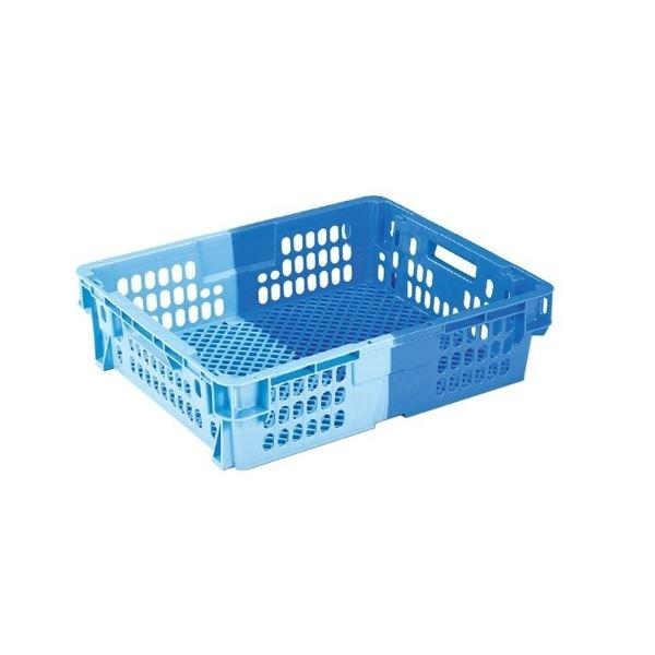 【5個セット】 業務用コンテナボックス/食品用コンテナー 【NF-M26C】 ダークブルー/ブルー 材質:PP【代引不可】