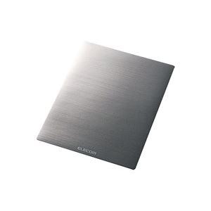 【マラソンでポイント最大43倍】(業務用50セット) エレコム ELECOM マウスパッド ノーマルサイズ銀MP-118SV
