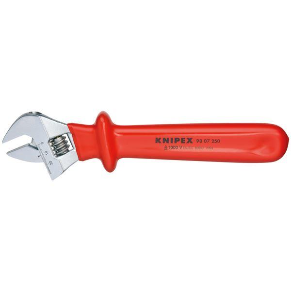 KNIPEX(クニペックス)9807-250 絶縁モンキーレンチ 250MM