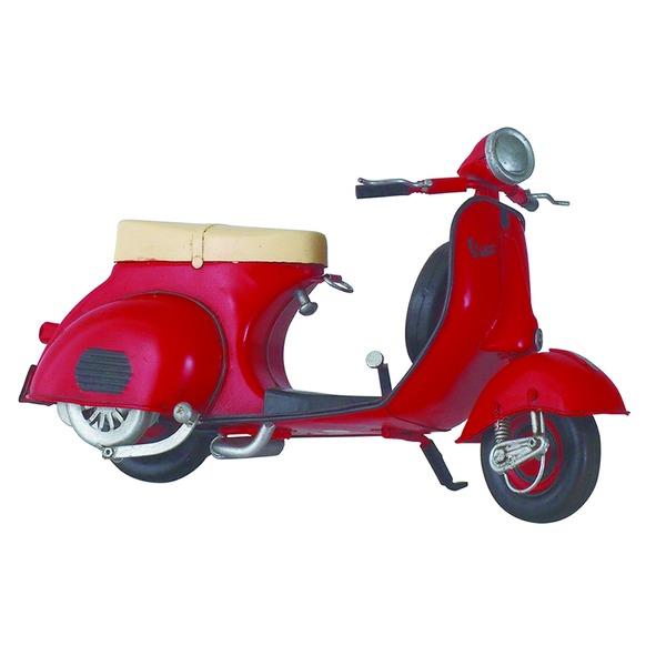 【スーパーセールでポイント最大44倍】ブリキのおもちゃ 置き物 【バイク07】 材質:鉄 〔インテリアグッズ ディスプレイ雑貨〕【代引不可】