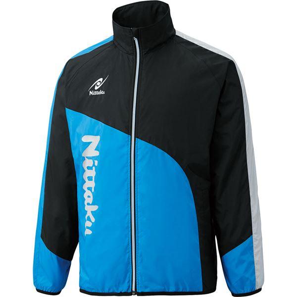 【マラソンでポイント最大43倍】ニッタク(Nittaku) ライトウォーマー CUR シャツ NW2840 ブルー S
