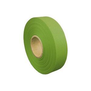(業務用200セット) ジョインテックス カラーリボン黄緑 12mm*25m B812J-YG