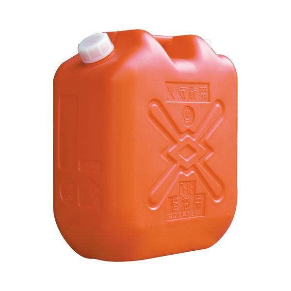【マラソンでポイント最大43倍】(まとめ) 土井金属 灯油缶 18L レッド 1個 【×4セット】