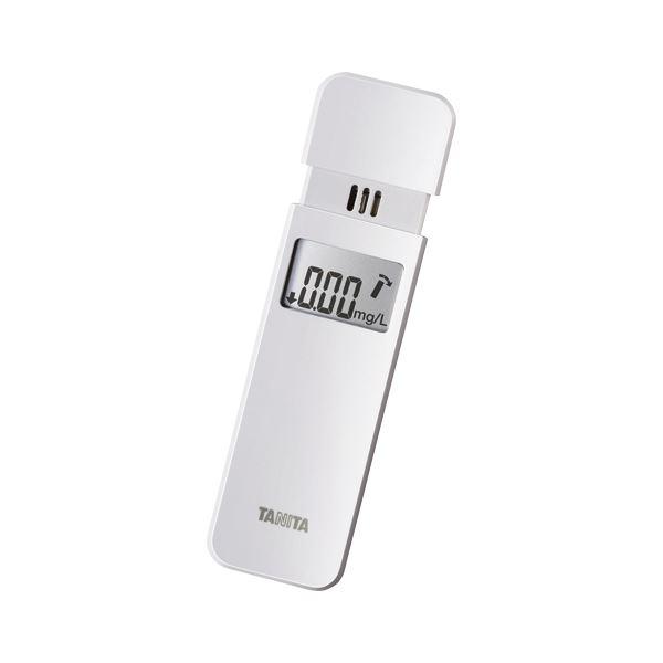 息を吹きかけるだけで 呼気中のアルコール濃度を確認 返品送料無料 クーポン配布中 タニタ アルコールチェッカー EA-100-WH ホワイト 注目ブランド