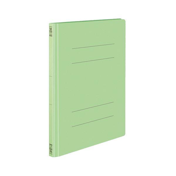 (まとめ) コクヨ フラットファイルS(ストロングタイプ) A4タテ 150枚収容 背幅18mm 緑 フ-VS10G 1セット(10冊) 【×5セット】
