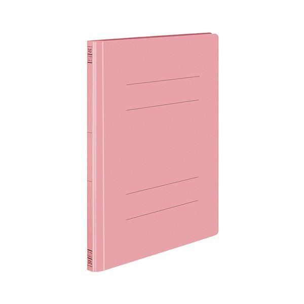 (まとめ) コクヨ フラットファイルS(ストロングタイプ) A4タテ 150枚収容 背幅18mm ピンク フ-VS10P 1セット(10冊) 【×5セット】