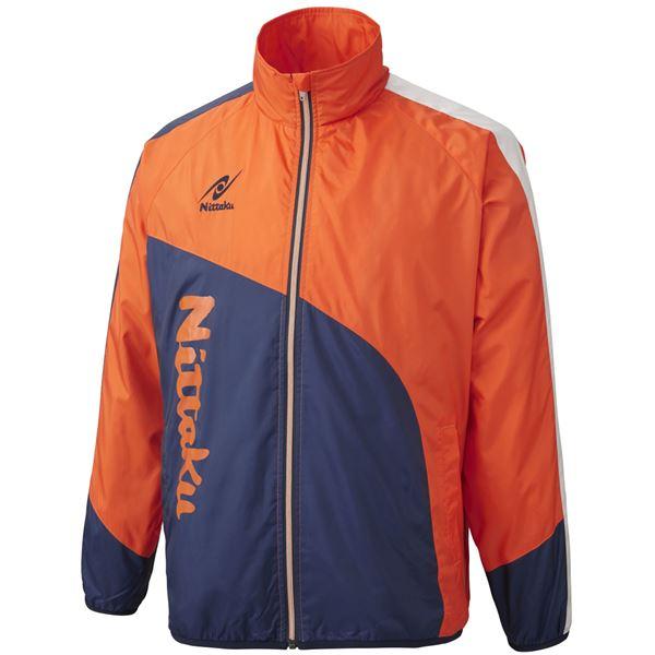 【マラソンでポイント最大43倍】ニッタク(Nittaku) ライトウォーマー CUR シャツ NW2840 オレンジ L
