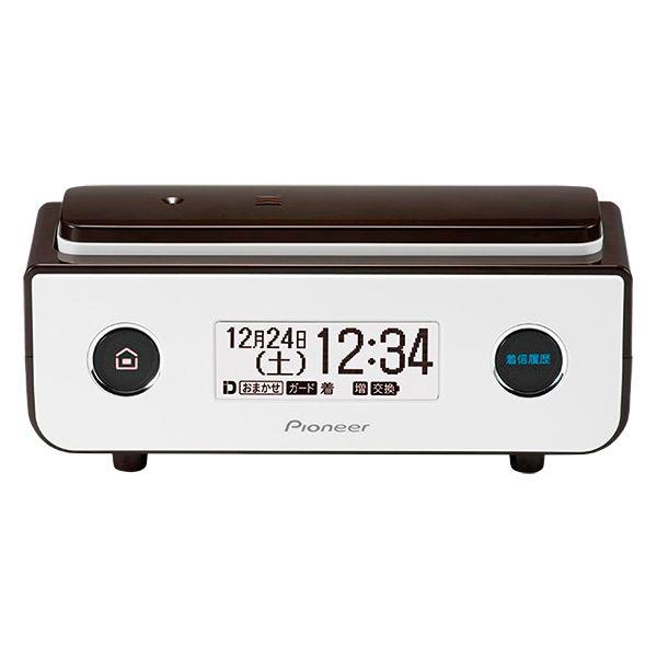 【マラソンでポイント最大43倍】パイオニア デジタルフルコードレス留守番電話機 ビターブラウン TF-FD35S(BR)