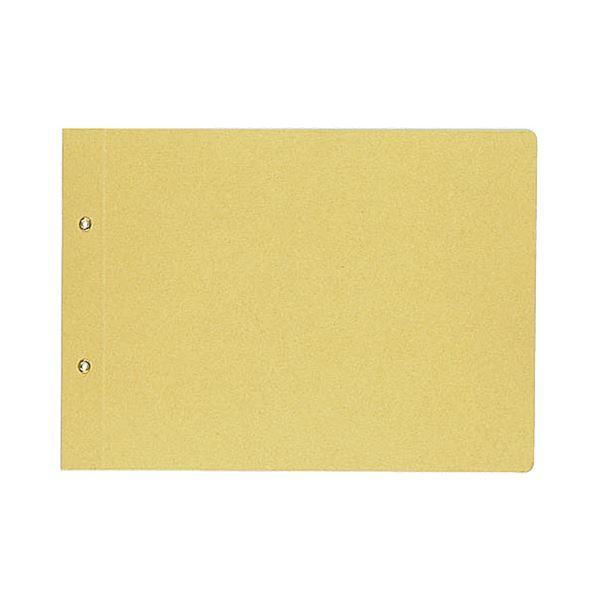 (まとめ) コクヨ 綴込表紙C クラフトタイプ B5ヨコ 2穴 業務用パック ツ-51 1パック(20組40枚) 【×4セット】