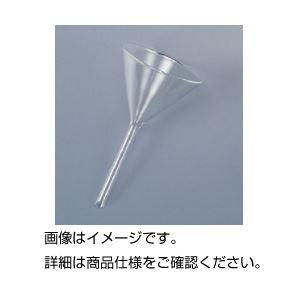 【マラソンでポイント最大43倍】(まとめ)ガラス製ロート 90mm【×10セット】