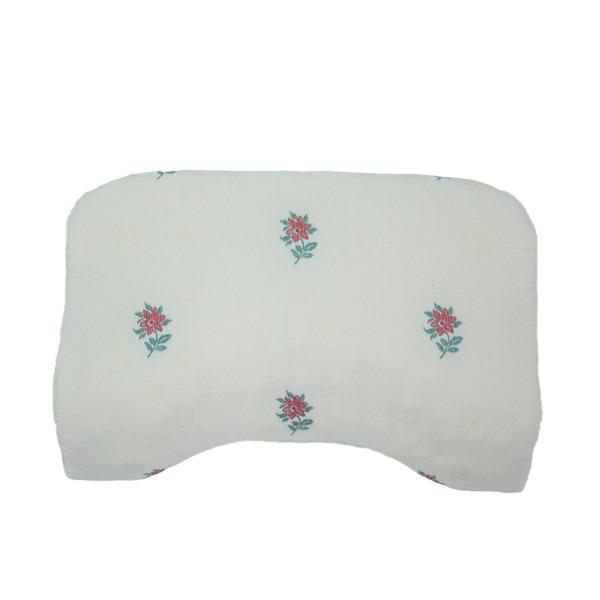 低反発枕/ピロー 【肩フィット】 洗えるカバー付き(オロペサ)