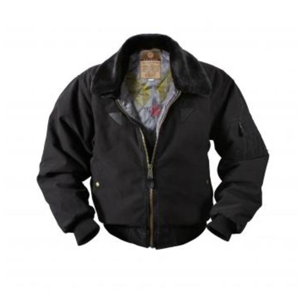【スーパーセールでポイント最大43倍】ROTHCO(ロスコ) ヴィンテージコットンB-15Aボンバージャケット ROGT-B15A ブラック S