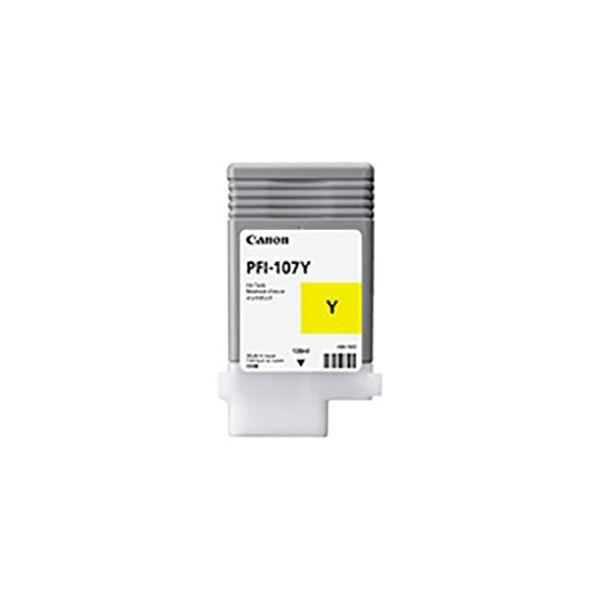 (業務用3セット) 【純正品】 Canon キャノン インクカートリッジ/トナーカートリッジ 【6708B001 PFI-107Y イエロー】:インテリアの壱番館
