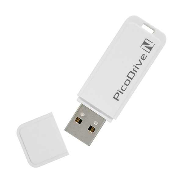 (まとめ) グリーンハウス USBメモリー ピコドライブ N 32GB GH-UFD32GN 1個 【×2セット】