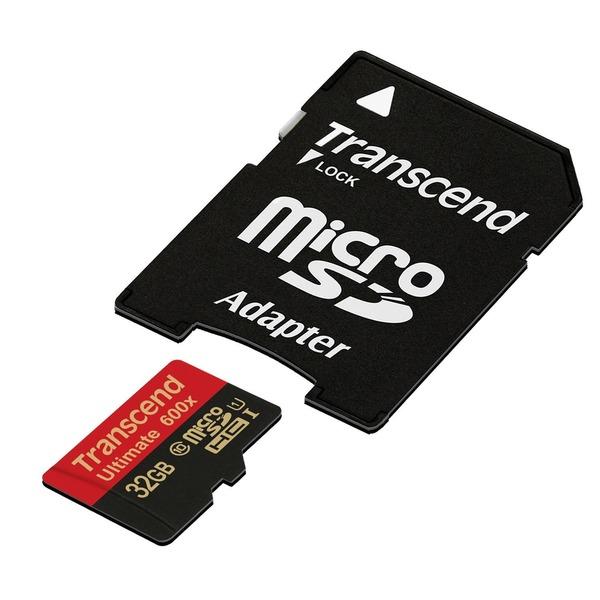 トランセンドジャパン microSDHCカード TS32GUSDHC10U1 【5個セット】