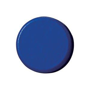 (業務用100セット) ジョインテックス 強力カラーマグネット 塗装18mm 青 B272J-B 10個