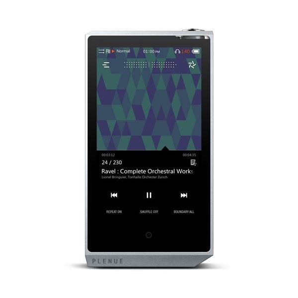 【スーパーセールでポイント最大44倍】COWON Bluetooth搭載ハイレゾ対応高品質プレーヤー PLENUE R 128GB シルバー PR-128G-SL