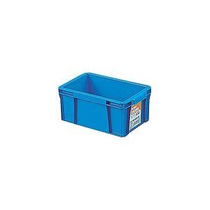 【60セット】 ホームコンテナー/コンテナボックス 【HC-02B】 ブルー 材質:PP 〔汎用 道具箱 DIY用品 工具箱〕【代引不可】
