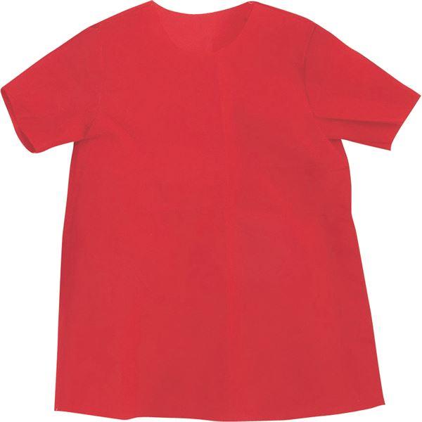 【マラソンでポイント最大43倍】(まとめ)アーテック 衣装ベース 【C シャツ】 不織布 レッド(赤) 【×30セット】