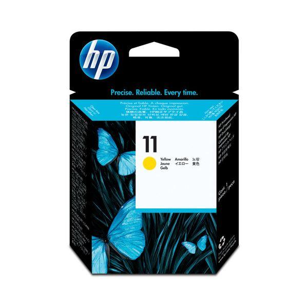 (まとめ) HP11 プリントヘッド イエロー C4813A 1個 【×3セット】