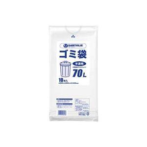 【マラソンでポイント最大43倍】(業務用100セット) ジョインテックス ゴミ袋 LDD半透明 70L 10枚 N209J-70