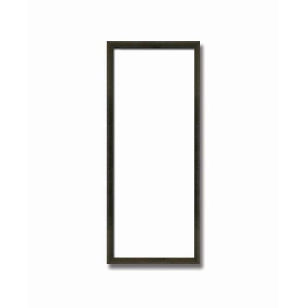 【てぬぐい額】木製てぬぐい額 縦長額 前面アクリル仕様・壁掛けひも ■黒(茶)てぬぐい額(890×340mm)コクタン色