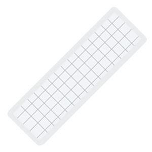 (まとめ) コクヨ マグネット見出し 19×75×1.2mm 白 マク-402W 1個 【×40セット】