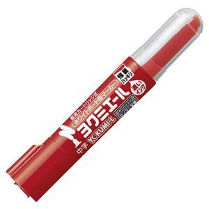 (まとめ) コクヨ ホワイトボード用マーカーペン ヨクミエール 中字・丸芯 赤 PM-B502R 1本 【×50セット】