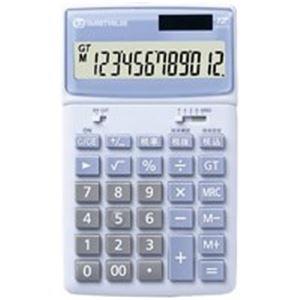 【マラソンでポイント最大43倍】(業務用10セット) ジョインテックス 小型電卓卓上タイプ 5台 K042J-5