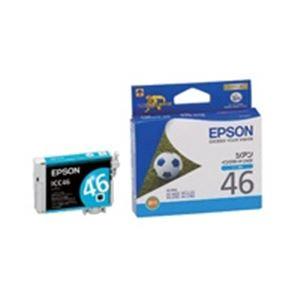 プリンターインク トナーカートリッジ OAインク トナー リボン 【スーパーセールでポイント最大44倍】(業務用50セット) EPSON エプソン インクカートリッジ 純正 【ICC46】 シアン(青)