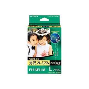 【スーパーセールでポイント最大44倍】(業務用50セット) 富士フィルム FUJI 写真仕上げ光沢プレミア WPL100PRM L 100枚