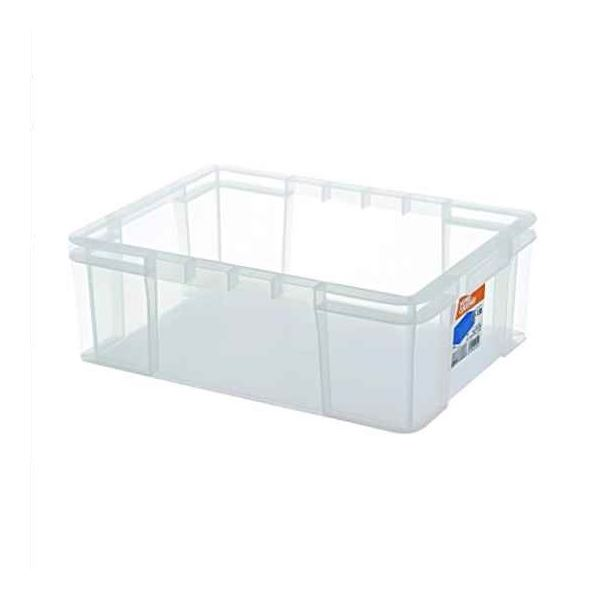 【20セット】 ホームコンテナー/コンテナボックス 【HC-13B】 クリア 材質:PP 〔汎用 道具箱 DIY用品 工具箱〕【代引不可】
