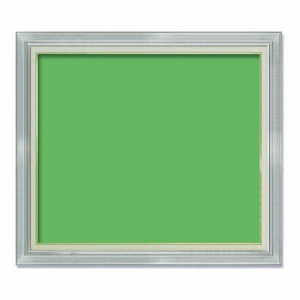【油額】油絵額・キャンバス額・金の油絵額・銀の油絵額 ■F50号(1167×910mm)「シルバー」