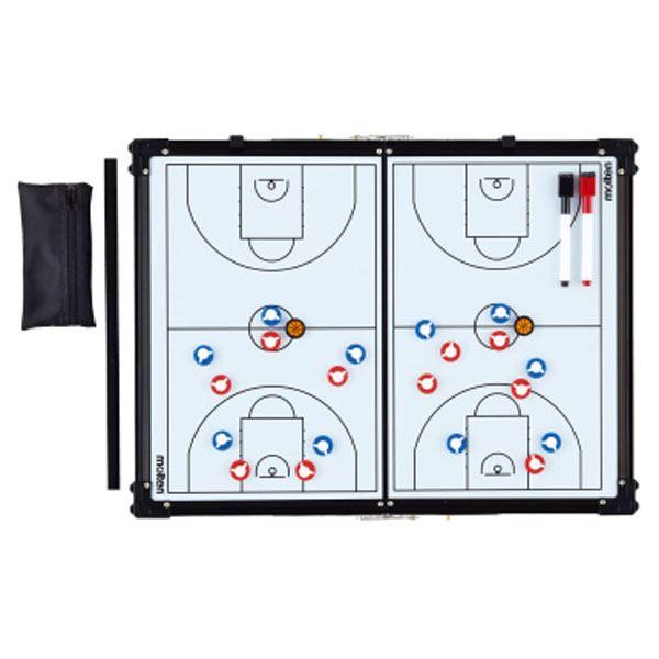 【モルテン Molten】 バスケットボール用品/備品 【折りたたみ式 作戦盤】 縦45×横60cm SB0070 〔運動 スポーツ用品〕