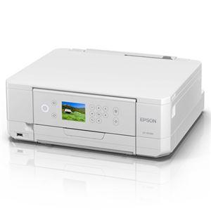 エプソン A4インクジェットプリンター/カラリオ/多機能/6色/無線LAN/Wi-FiDirect/両面/2.7型液晶/ホワイト