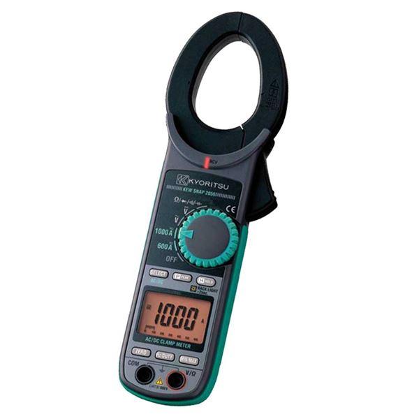 【マラソンでポイント最大43倍】共立電気計器 キュースナップ・AC/DC電流測定用クランプメータ 2055【代引不可】